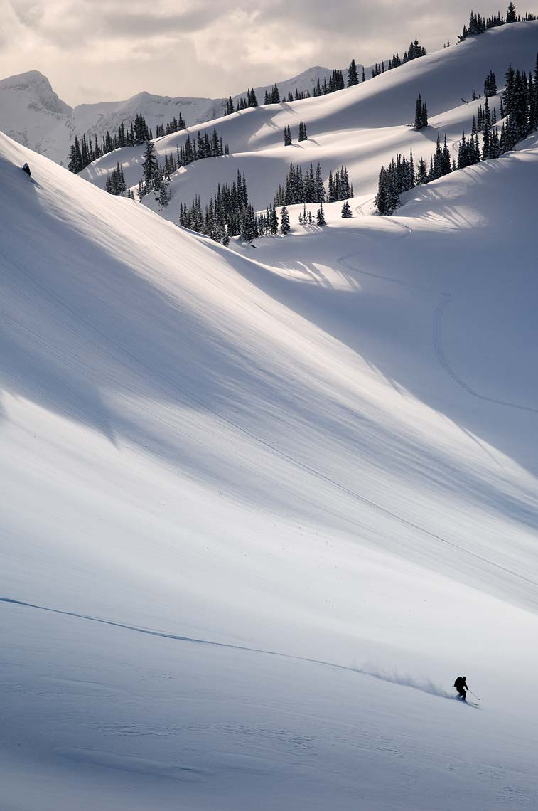 backcountry skier Monashee Mountains