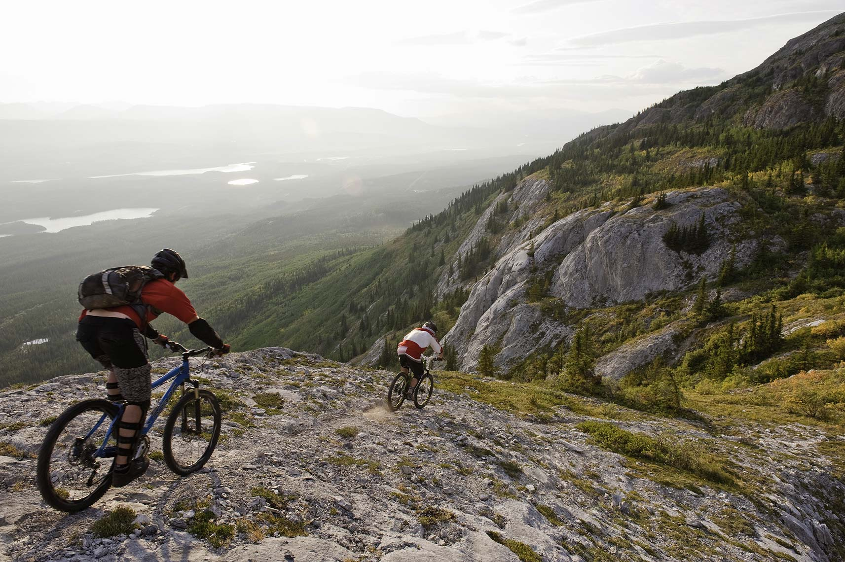 Yukon mountain biking